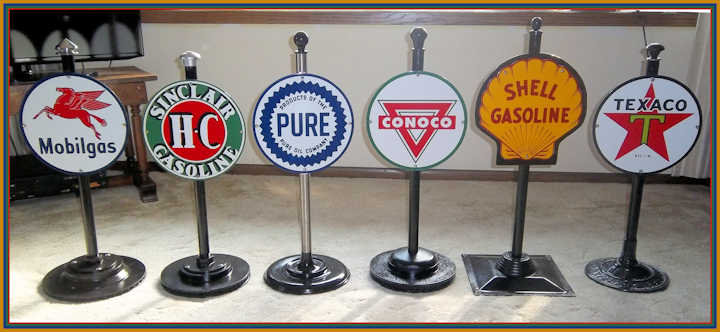 Lollipop Gas Signs